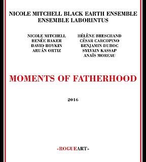 <i>Moments of Fatherhood</i> 2016 studio album by Nicole Mitchell
