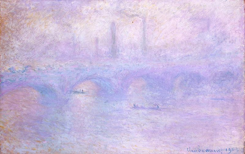 File:Monet, Claude - Waterloo Bridge. Effect of Fog.jpg