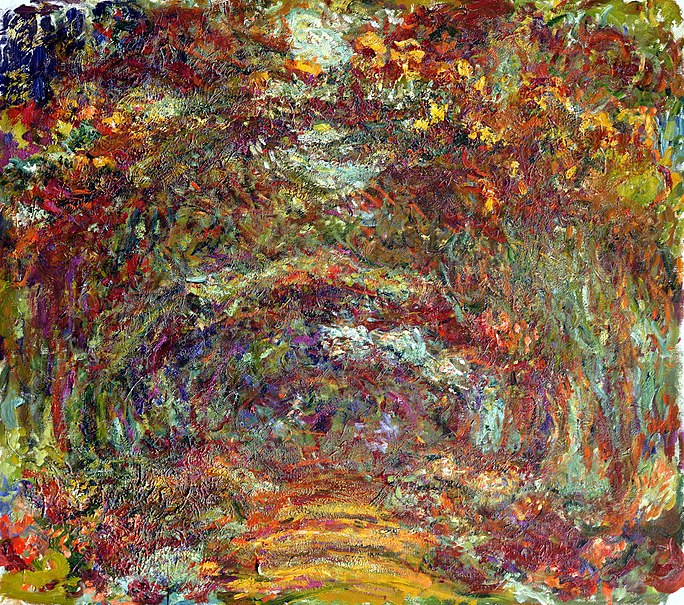 File:Monet- Der Rosenweg in Giverny.jpeg