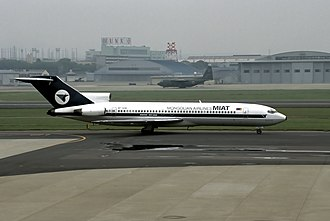 MIAT Mongolian Airlines - A former MIAT Boeing 727-200