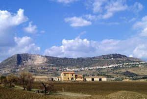 Castel di Iudica - Image: Monte Iudica