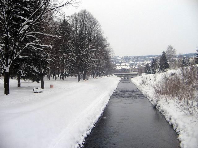 Moravica zimi