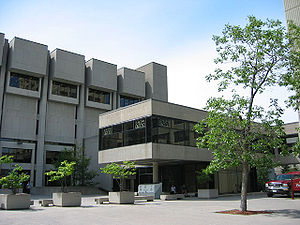 University of Ottawa - Morisset Library is the main library for the university and houses the majority of its special collections.