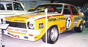John Fitzpatrick (racing driver) - The race winning Morris/Fitzpatrick Holden LH Torana SL/R 5000 L34.