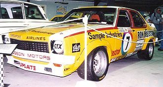 Bathurst 1000 - The Holden LH Torana SL/R 5000 L34 in which Bob Morris and John Fitzpatrick won the 1976 race.