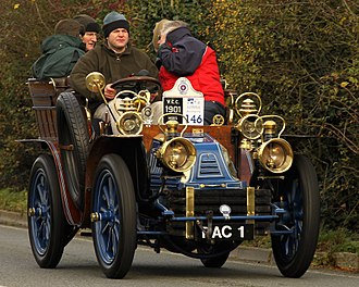 Mors (automobile) - Mors 10HP Tonneau from 1901 owner The Royal Automobile Club