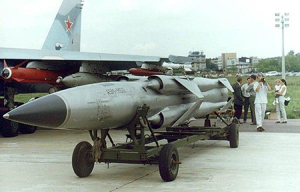 """بالصور.. شاهد وتعرف على سفينة """"إر – 32"""" الروسية الحاملة لصواريخ """"موسكيت"""" التى حصلت عليها مصر   - صفحة 2 600px-Moskit_missile"""