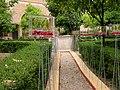 """Mostra """"Dall'oggetto all'oggettivo –evidenziazione di unità naturali-Villa Borghese""""- Museo Canonica Roma June 2006 Propsettiva su pozzo.jpg"""
