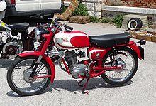 Una Moto Morini Corsaro 125 del 1960
