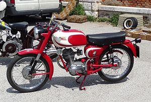 Moto Morini - Moto Morini Corsaro 125 of 1960