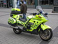 Motorcycle paramedic London Ambulance Service.jpg