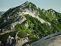 Mount Tsubakuro from Hut Enazanso 2002-08-22.jpg