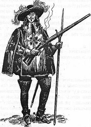 The Three Musketeers - A Musketeer of the Guard c.1660.