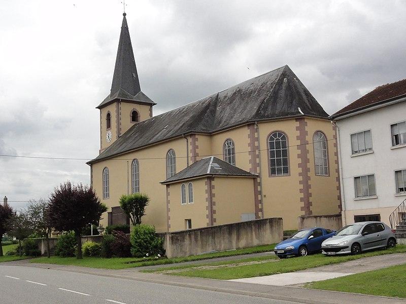 Moussey (Moselle) église
