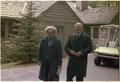 Mrs. Begin and Menahem Begin at Camp David - NARA - 181319.tif