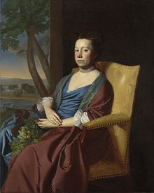 Mrs Isaac Smith Elizabeth Storer by John Singleton Copley 1769.jpeg