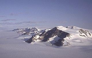 Mount Luyendyk mountain in Antarctica
