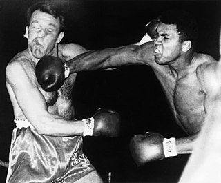 Brian London English boxer