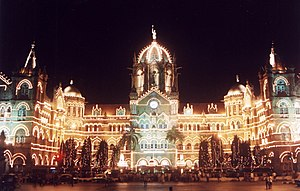 English: Chhatrapati Shivaji Terminus in Mumba...