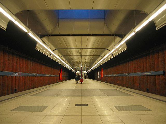 Munich subway Machtlfinger Straße
