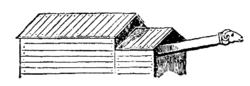 Murbräcka med skjul, Nordisk familjebok