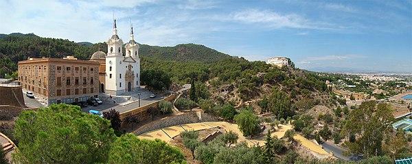 Resultado de imagen de Santuari de la verge Fontsanta: murcia