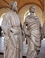 Museo di orsanmichele, nanni di banco, quattro santi coronati, 02.JPG