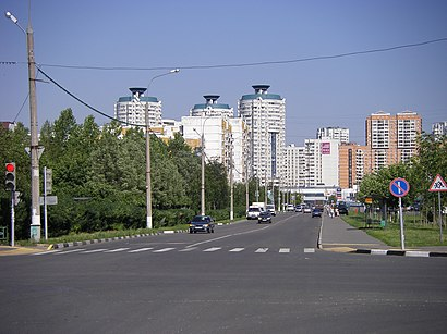 How to get to Мячковский Бульвар with public transit - About the place