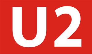 U2 (Nuremberg U-Bahn) - Logo U2