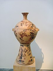 NAMA Early black-figure Attic skyphos-krater.JPG