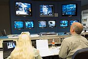 NASA Neutral Buoyancy Laboratory control area