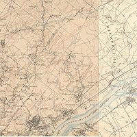 The Northeast in 1900, showing the region still to be a collection of towns and farms. Click for larger image.