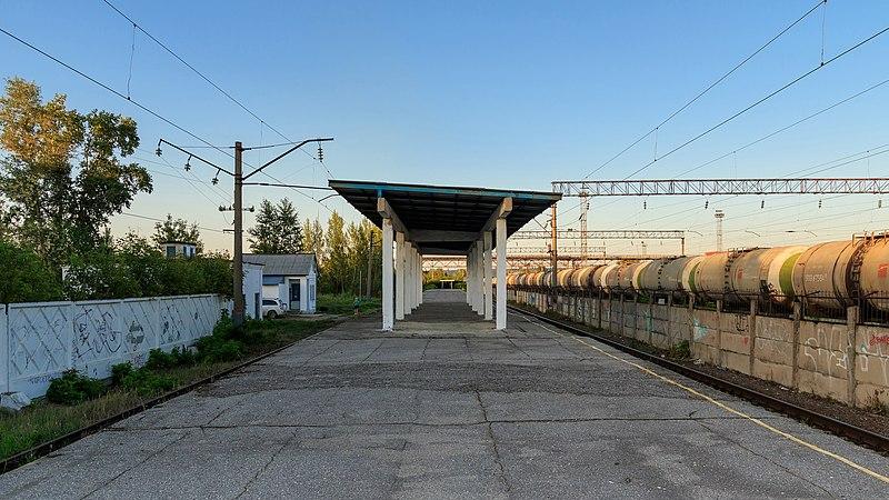 """Станция """"Кустовая"""" Горьковской железной дороги. Источник: Wikimedia Commons"""