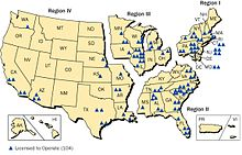 Nuclear power in the United States - Wikipedia, the free encyclopedia