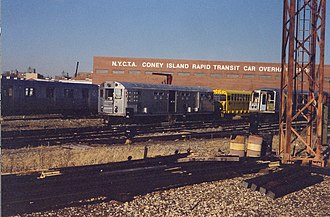 Money Train - Former R21 car rebuilt for use in the film. After production, the car was donated to the New York Transit Museum.