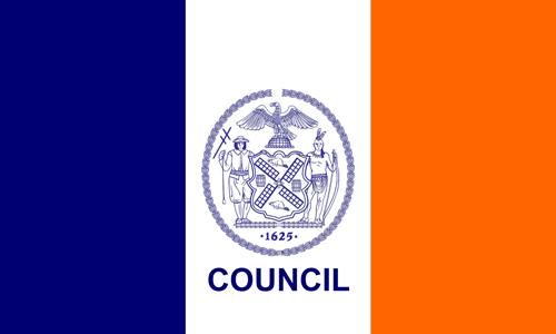 NYC Councilmanic Flag