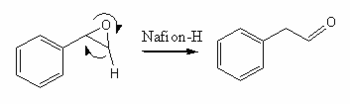 Isomerization via Nafion