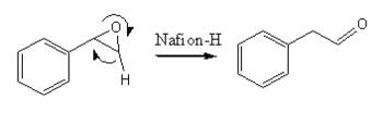 Isomerization via Nafion
