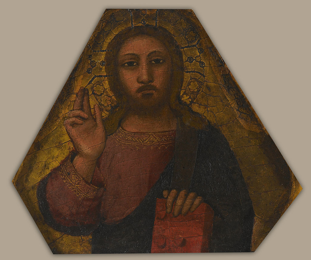 Nardo di Cione - Christ Blessing - Google Art Project.jpg