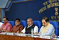 Narendra Singh Tomar addressing a press conference on the achievements of the Ministries during 3 years of NDA Government, in New Delhi.jpg