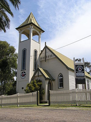 Narooma, New South Wales - The Uniting Church built 1914