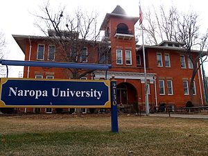 English: Naropa University in Boulder, Colorado.