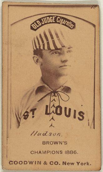 Nat Hudson - Image: Nat Hudson baseball card