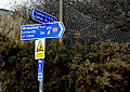 National Cycle Network sign, Whitehouse - geograph.org.uk - 1755023.jpg