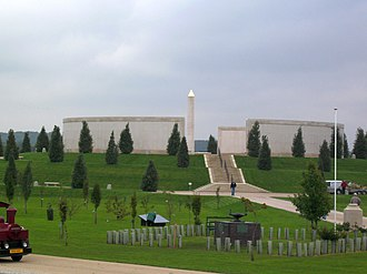 Armed Forces Memorial - Image: National Memorial Arboretum post 1945 04