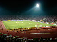 The National Stadium, Bucharest (Dinamo vs Manchester)