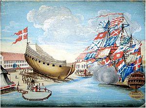 Gammelholm - Naval ships at Gammelholm