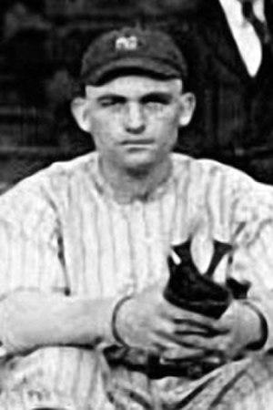 Neal Brady - Image: Neal Brady (1916 Yankees)