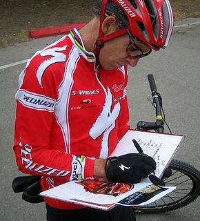Ned Overend American racing cyclist