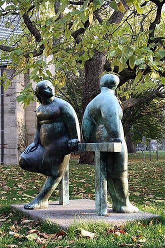 Joe Rosenthal (sculptor) - Image: Neighbours by joe rosenthal
